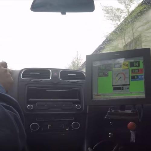 Onmotor Alpine test